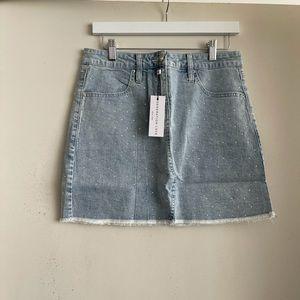 Generation Love Claudette Crystal Skirt NWT